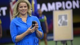 """Kim Clijsters """"will wieder stark sein"""""""