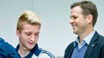 Nachsicht mit dem Verkehrssünder: Oliver Bierhoff sichert Marco Reus Rückendeckung zu