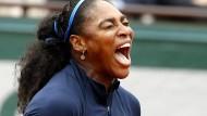 Zum Schreien: Wie bei den Australian Open verliert Serena Williams ein Grand-Slam-Finale.