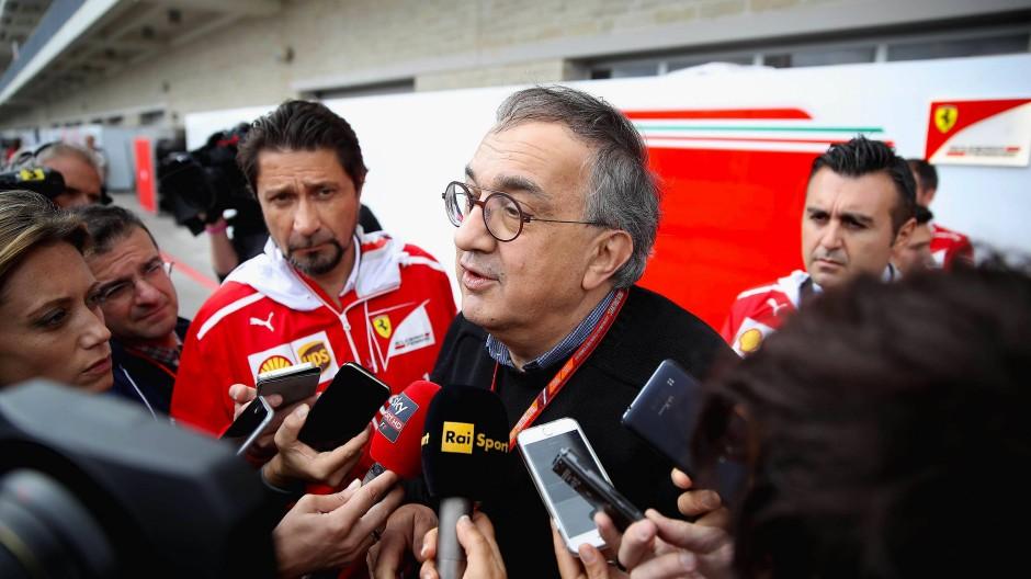 Setzte das Team nach den ersten Niederlagen unter Druck: Ferraris Vorstandsvorsitzender  Sergio Marchionne.