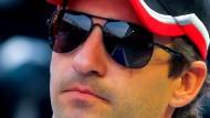 Coolness ist gefragt: Timo Glock lässt sich nicht aus der Ruhe bringen - auch wenn sein Rennwagen mitunter unkalkulierbare Risiken birgt