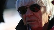 Die Formel-1-Teams würden schon nicht kollabieren, sagt Bernie Ecclestone