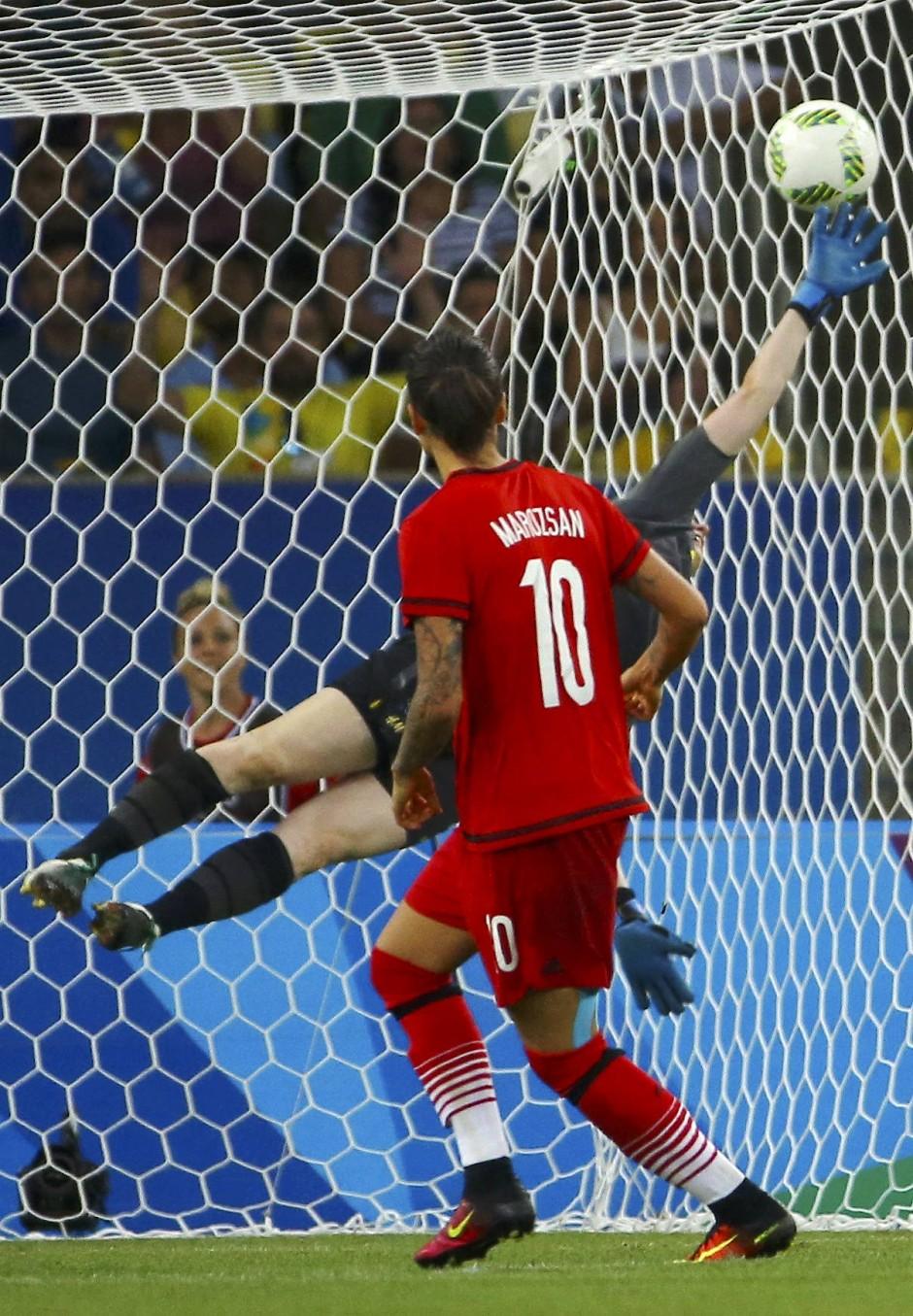 Goldmoment: Maroszans Tor im Finale von Rio gegen Schweden