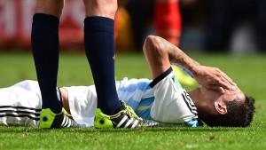 Di María fällt im Halbfinale aus