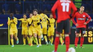 Leverkusen verspielt Gruppensieg