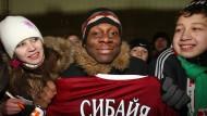 Meister 2009: Rubins Spieler MacBeth Sibaya ist stolz auf den russischen Titel.