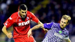 Köln verliert gegen Aue
