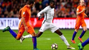 Frankreich bezwingt die Niederlande