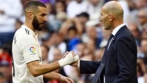 """Zidanes """"Lieblinge"""" treffen wieder"""