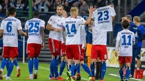 Erster HSV-Heimsieg im Fußball-Unterhaus