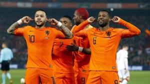 Niederlande schießen sich für DFB-Team warm