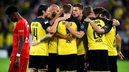 Dortmund packt beim Supercup fest zu