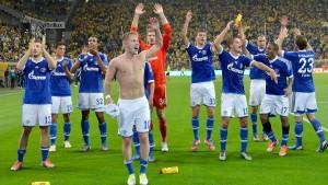 Königsblaue Derbysieger