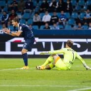 Ärgert sich: Bochums Abwehrspieler Christian Gamboa nach dem 2:2-Ausgleich.