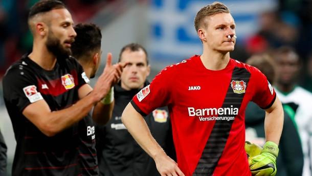 Leverkusener Slapstick vom Elfmeterpunkt