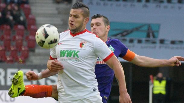 Augsburg jubelt in der Nachspielzeit