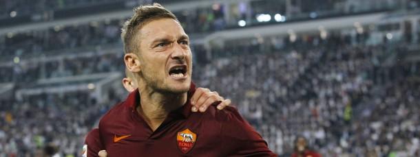 Immer noch als Torschütze gefährlich: der 38 Jahre alte Francesco Totti