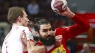 Frankreich gegen Spanien und Polen gegen Qatar
