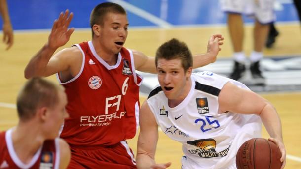 Basketball-Liga mit Plan B