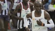 Eliud Kipchoge beim 45. Berlin Marathon