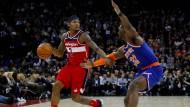 Bradley Beal in Aktion: Der Spielmacher ist derzeit der wichtigste Spieler der Washington Wizards.