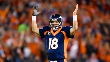 Einsame Spitze: Kein NFL-Profi hat so viele Touchdown-Pässe geworfen wie Peyton Manning.
