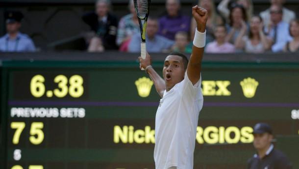 Kyrgios siegt gegen Nadal