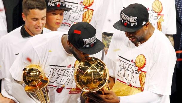 Miami Heat verteidigt Titel