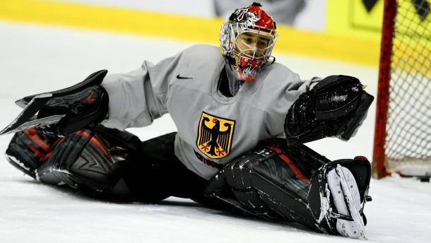 Eishockey-WM - Deutschland Training