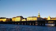 """""""Skyline"""" von Stockholm: Die Schweden wollen sich wieder um Olympia bewerben."""