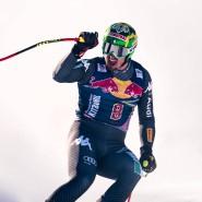 Nicht das erste Mal gewinnt er: Dominik Paris jubelt nach seiner Einfahrt in Kitzbühel.