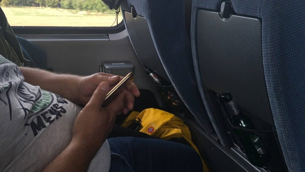 Am Smartphone erkennt man den richtigen Mann