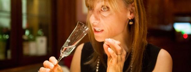 """""""Der Duft meiner Kindheit"""": Signora Nonino bei der Verkostung"""