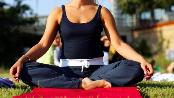 """""""Meditation wirkt universell positiv"""""""