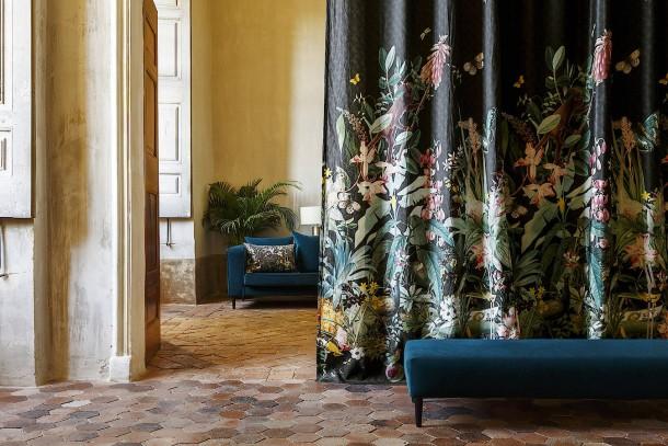 bilderstrecke zu beim innendesign spielen stoffe wieder eine gro e rolle bild 1 von 4 faz. Black Bedroom Furniture Sets. Home Design Ideas