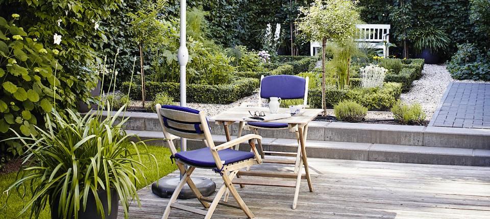 schoner garten terrasse, schöner garten: landschaftsarchitekten helfen bei der planung, Design ideen