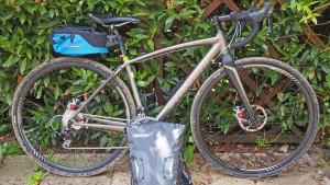 Schnelle Radtouren mit leichtem Gepäck