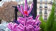 """""""Pink, pink, pink sind alle deine Blätter"""": In Frankreich mögen es die Menschen offenbar modern."""