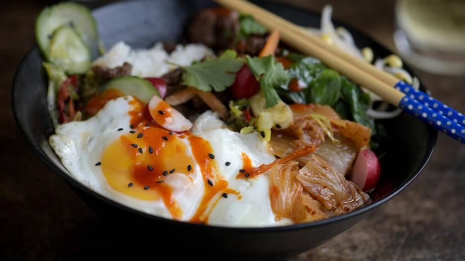 Bibimbap: Typisch koreanisches Essen