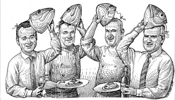 """Bild zu: Hamburger Küche im """"Fischereihafen Restaurant ..."""