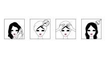 Haare waschen, antrocknen lassen und die Maske aufsetzen: Nach 20 Minuten riechen die Haare nach Frühling.