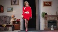 Sieht so Mode aus? Marina Hoersmanseder präsentiert ihre neue Kollektion auf der Berliner Modewoche.