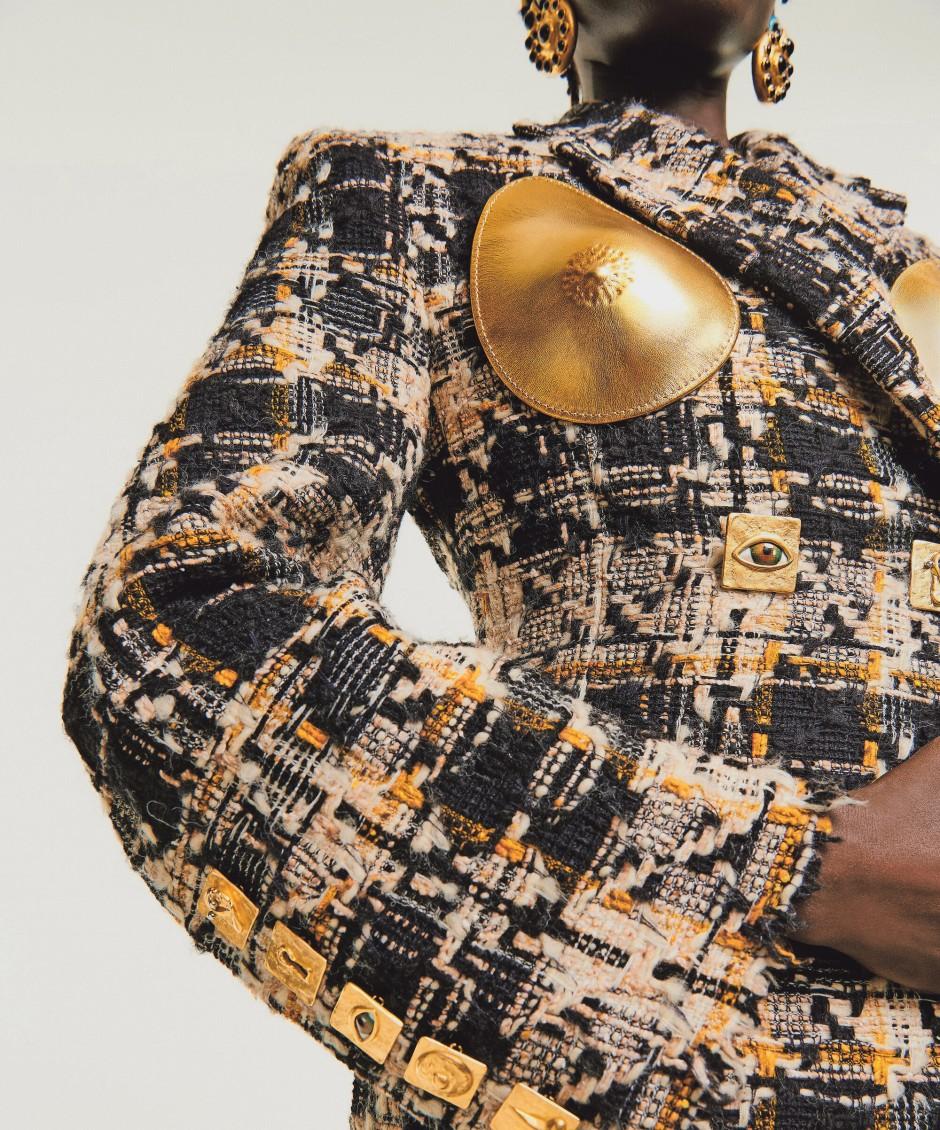 Brustschutz: Entwurf von Daniel Roseberry für Schiaparelli