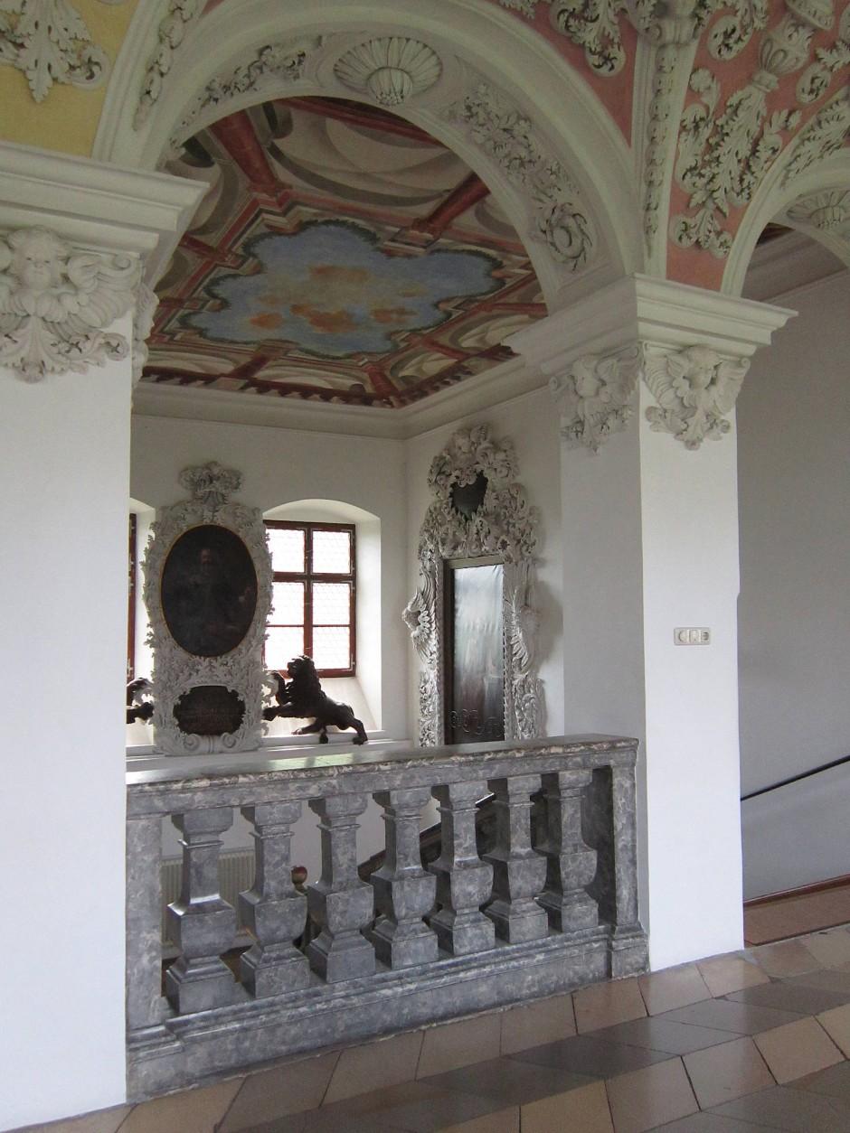 Martina Gebhardt hat ihre neuen Arbeitsräume im Kloster Wessobrunn, 60 Kilometer südlich von München, zu schätzen gelernt.