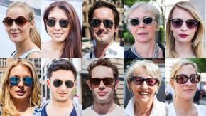 Nicht zu durchschauen: Fragt man Passanten zwischen 18 und 74 Jahren an einem heißen Tag in der Frankfurter Fußgängerzone, ob sie mit Sonnenbrille anders auftreten, verneint die Mehrheit das. Dabei sorgen die Modelle auf der Nase für eine gewisse Gesichtssymmetrie. Sie machen somit schon ein bisschen schöner. Ganz ungelegen kann das kaum jemandem kommen.