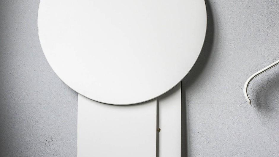 Zusammenklappen und wegrollen: Für den Büromöbelhersteller Gumpo ist dieser Stehtisch gedacht - bisher ein Prototyp.