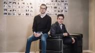 Freunde in ihrem Alter sind meist Berufseinsteiger. Ludwig Wurlitzer (links) und Philipp Man sind gerade dabei, ihr Amerika-Geschäft aufzubauen.