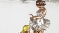 Ballerina in Lebensgröße: Jeff Koons bleibt seiner Technik und dem Material treu, die Themen sind neu.