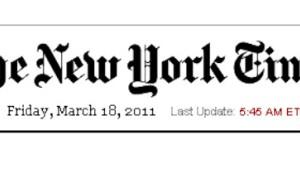 """""""New York Times"""" kostet im Internet wieder Geld"""