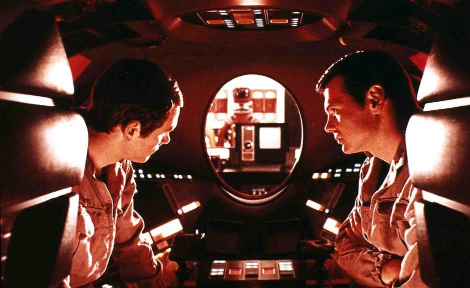 """Wenn der Computer sich selbständig macht: Szene aus Stanley Kubricks """"2001 - Odyssee im Weltraum"""""""